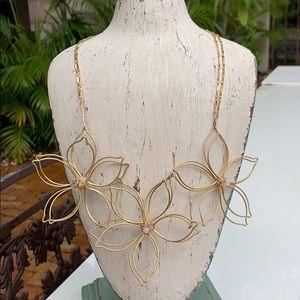 Anthropologie - En Fleur Bib Necklace - Stunning!